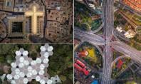 Frumusețea ascunsă a clădirilor și a orașelor, văzute așa cum le văd păsările (Foto) Pana nu de mult, aceste modele obscure erau vizibile doar in planurile cladirilor sau pentru cei care se intampla sa treaca cu un vehicul aerian chiar pe