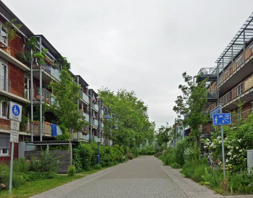 vauban - Un experiment radical: Cartierul fără locuri de parcare, două decenii mai târziu