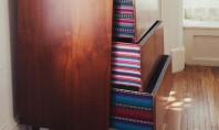 Rafturi frumos decorate! Pentru o comoda cu aspect inedit, care va va inveseli camera!
