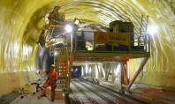Tehnologii revolutionare Sika - tunelul feroviar Gotthard (Gotthard Base Tunnel - GBT) Elvetia Tehnologiile de varf