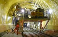 Tehnologii revolutionare Sika - tunelul feroviar Gotthard (Gotthard Base Tunnel - GBT), Elvetia