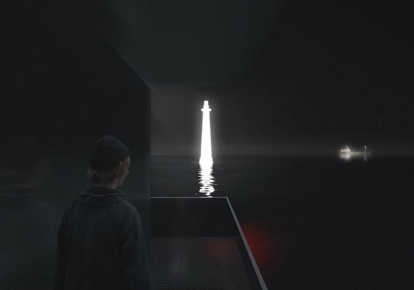 Farul-hologramă, un omagiu adus unei vechi călăuze de nădejde a navigatorilor