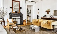 Lectii de design aplicate intr-un apartament din Manhattan Interioarele elegante ale apartamentului sunt puse in valoare