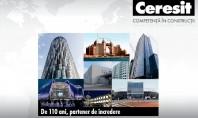 CERESIT - 110 ani de competenta in constructii Cate branduri din domeniul constructiilor si amenajarilor se