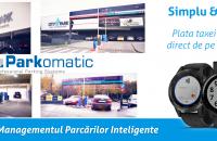 Taxa de parcare poate fi plătită direct de pe smartwatch - premieră de la Parkomatic