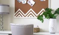 5 proiecte DIY cu panouri de pluta Panourile de pluta sunt foarte utile nu doar la