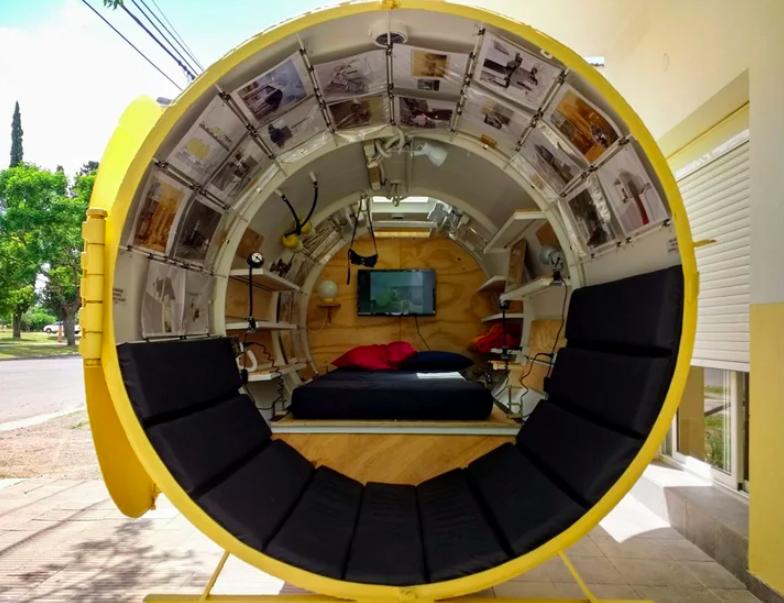 """Bunker-Martin-Marro-4 - Proiectul """"Buncăr"""":  O cisternă veche în care poți locui"""
