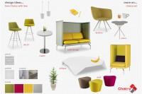 Zona de lounge & lobby - Inspirația Chairry la început de primăvară