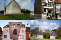 Arhitectura neobișnuită a caselor din Belgia. Urât sau reconfortant? Incurajat de succesul