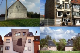 Arhitectura neobișnuită a caselor din Belgia. Urât sau reconfortant?