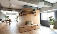 O noua camera in apartament definita cu ajutorul mobilierului Apartamentele din Japonia sunt recunoscute ca fiind