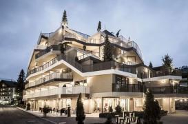 Acest hotel deosebit din Dolomiti parca aduce natura in interior