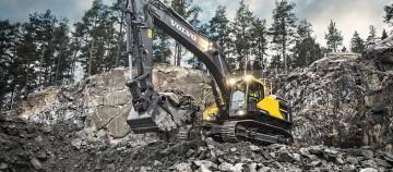 Excavatorul Volvo EC220E - construit să dureze