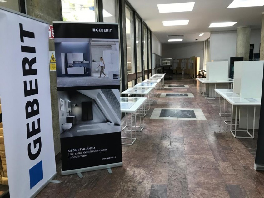 Geberit - sponsor la Trienala Bucharest East Centric