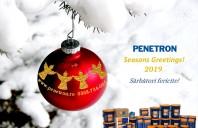 Penetron vă urează Crăciun fericit și un An Nou cât mai prosper!