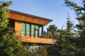 Placarea unei case de vacanță cu panouri HPL PARKLEX Facade