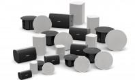 Divizia Bose Professional prezintă boxele DesignMax Modelele DesignMax variază de la profile de 2 inch până