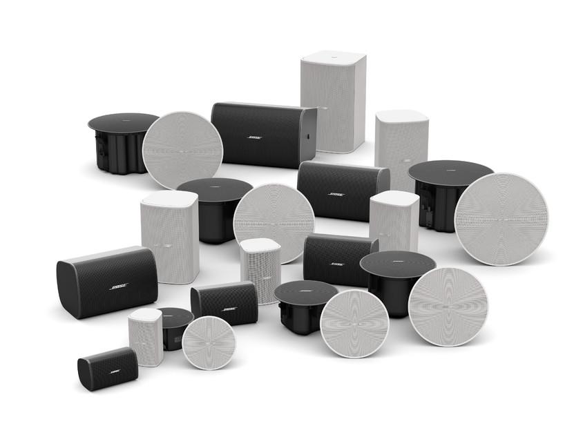 Divizia Bose Professional prezintă boxele DesignMax