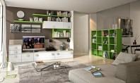 Sugestii moderne de depozitare pentru peretii camerei de zi Trebuie sa recunoastem ca indiferent de functiunea