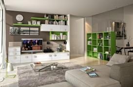 Sugestii moderne de depozitare pentru peretii camerei de zi