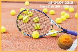 Cupa CELCO de Tenis de Câmp pentru veterani ed a X-a începe pe 18 iunie în