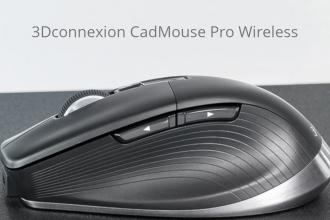 CadMouse Pro Wireless: Dedicat și conceput special pentru designeri și arhitecți