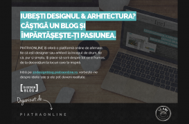 PIATRAONLINE lanseaza 10DesignBlog. Proiect pentru tinerii pasionati de arta decorativa si design de interior