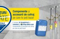 Componente și accesorii de cofraj esențiale în șantier