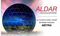 Aldar Headquarters cu inovatorul sistem modular de fatada METRA Fabulosul sediu Aldar este o cladire comerciala