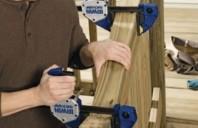 Menghine manuale pentru strangere - departare IRWIN, pentru prelucrarea lemnului