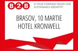 Doingbusiness ro lanseaza conferinta nationala Business to more Business la Brasov in data de 10 martie