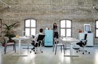 TNK FLEX - Scaunul de birou inspirat de mișcările tale Față de scaunele clasice de birou,
