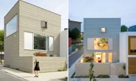 Casa urbana contemporana in Olanda Striatiile se pare ca sunt la moda fiind o reinterpretare mai