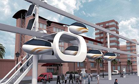 Reteaua de telegondole pentru transportul in comun ce va fi construita la Tel Aviv