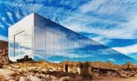 Casa aproape invizibilă din deşert Proiectata de arhitectul Tomas Osinski in colaborare cu beneficiarul producatorul de