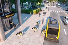 Viitorul livrărilor: Roboții și mașinile autonome lucrează în echipă pentru a duce colete la destinație