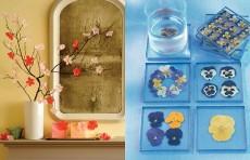 Inspiratie de primavara: decoratiuni cu flori