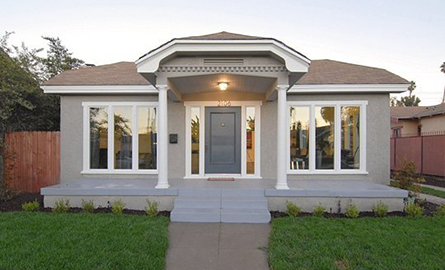 O casa din 1919 isi actualizeaza stilul