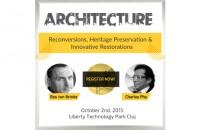 Peste 300 de arhitecti vor participa in aceasta vineri la Architecture Conference&Expo cel mai mare eveniment