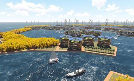 Cum va putea primul oraș plutitor din lume să refacă mediul înconjurător