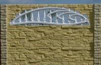 Gard de beton ce imita piatra naturala