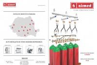 Sistem de stingere incendii cu gaze inerte (INERGEN) - Mod de functionare