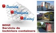 Euro Modul containere multifunctionale metalice pentru organizari de santiere birouri vestiare NOU! - Serviciu de inchiriere