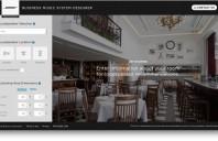 Divizia Bose Pro prezintă aplicația online Business Music System Designer pentru Integratori de soluții Audio