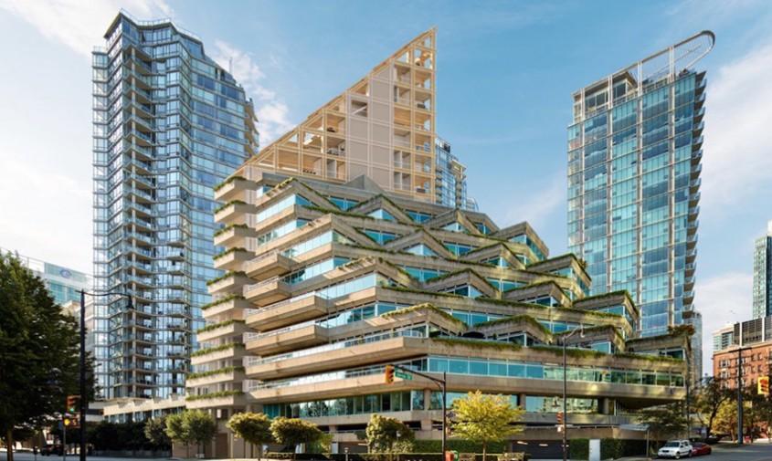 Cea mai înaltă clădire din lemn hibrid care se mândrește cu cele mai scumpe apartamente din