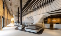 """Design industrial si modern combinate in amenajarea hotelului Old Mill Vechea cladire """"Old Mill"""" din zona"""