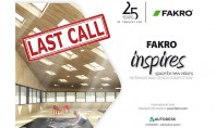 Competitia de design FAKRO Inspires - Space for New Visions Va reamintim au mai ramas doar