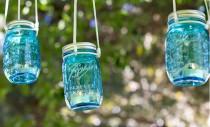 Bricolaj de vară - lumini decorative pentru curte sau terasă