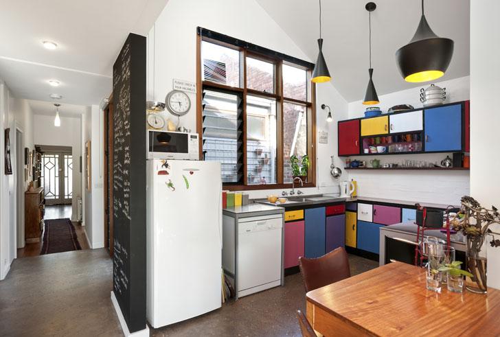 Casa Colorata din Melbourne desemnata cel mai eco-interior din Australia