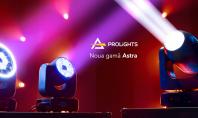 Prolights Astra – lumini profesionale pentru aplicaţii indoor sau outdoor Noua gama Astra de la Prolights